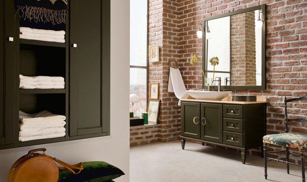 мебель для ванной комнаты массив